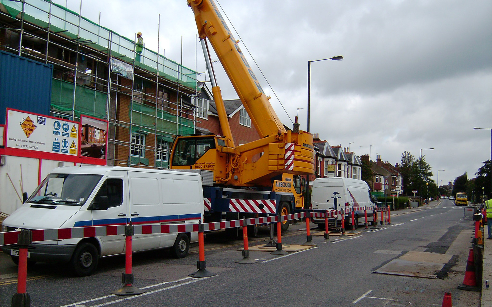 Headstone Road - Diamond Construction (2000) Ltd